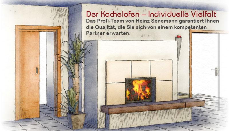 Ofensetzer und Kaminbauer Senemann entwirft Ihren Ofen