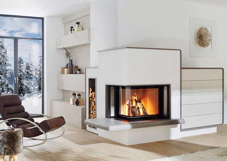 Heizkamin für Zuhause vom Ofenbauer Senemann in der Steiermark kaufen