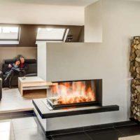 Kachelofen im Wohnzimmer - 123heizen Senemann